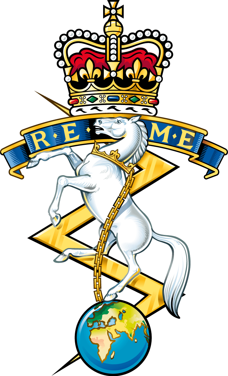 REME - Royal Electrical and Mechanical Engineers - Challenge Coins UK