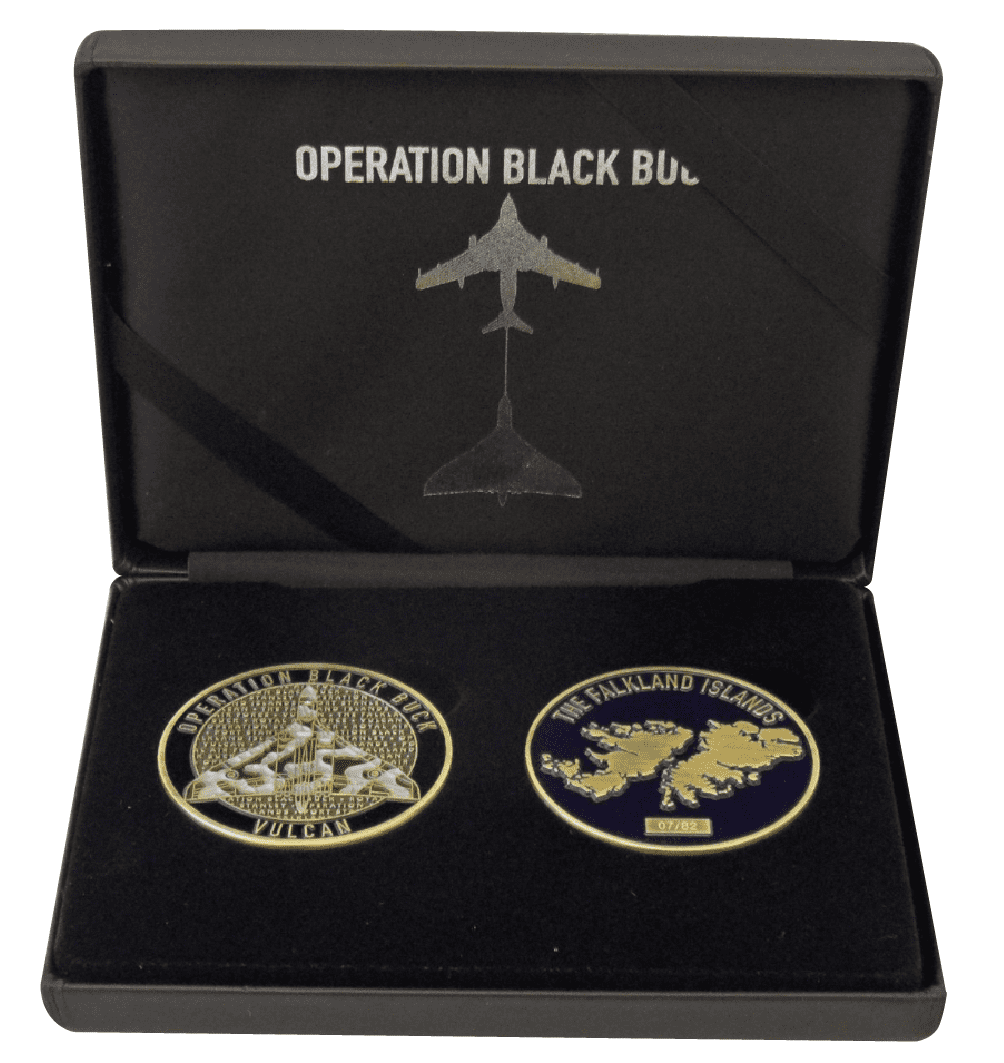 Black Buck Coin Set Signed by Martin Withers