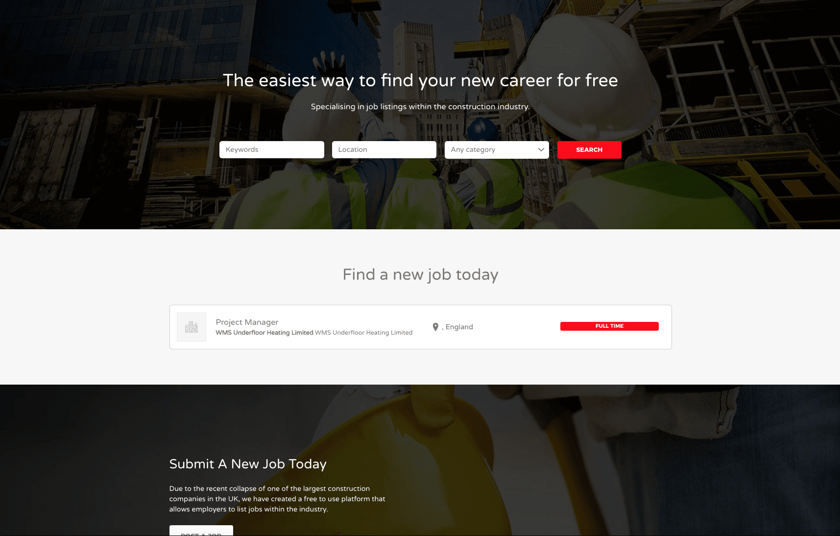 Project – Find Work